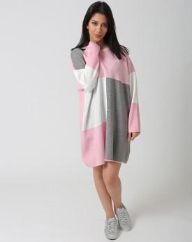 Colour Block Sweater Dress