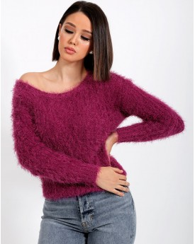 Fluffy Knitted Sweater
