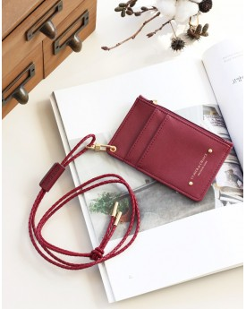 Card Case with Zipper Pocket