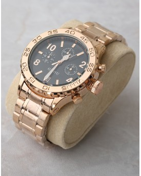 Chunky Rose Gold Watch