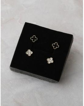 2 Set of flower Earrings
