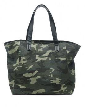 Camouflage Canvas Shoulder Bag
