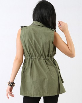 Military Vest With Big Pockets