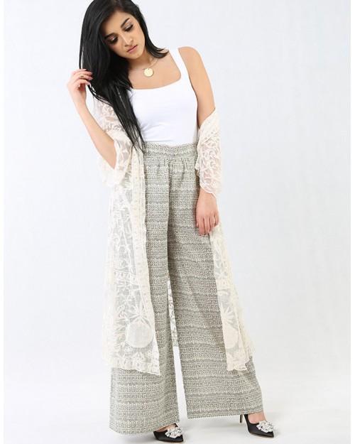 Long Lace Cardigan